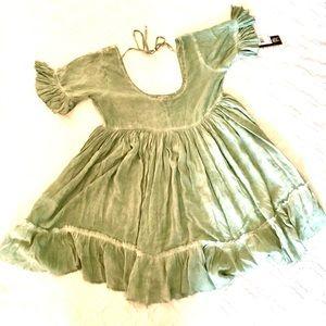 NWT Gypsies To The Sea Babydoll Dress